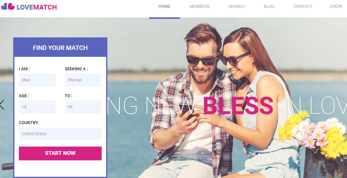 Dating WordPress Theme Premium